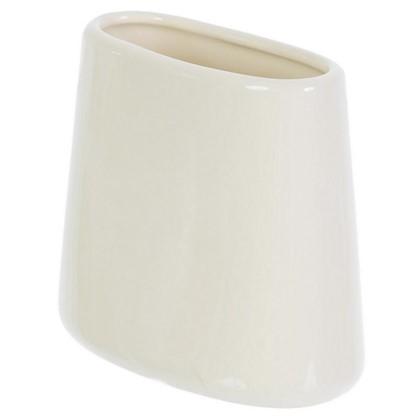 Стакан для зубных щеток настольный Veta керамика цвет ваниль цена