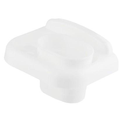 Стакан подвесной для зубных щеток Prime пластик цвет белый цена