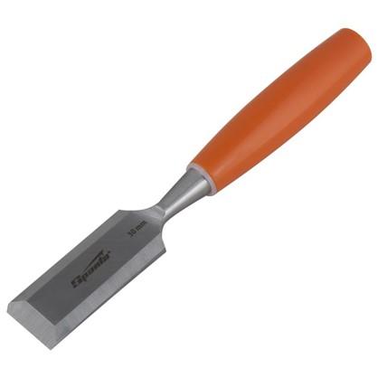 Стамеска плоская Sparta 30 мм с пластиковой ручкой