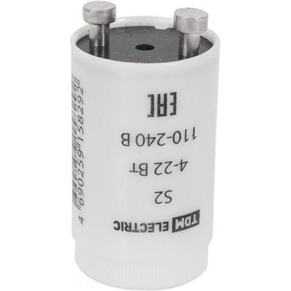 Стартер TDM S2 4-22Вт 127В алюминий цена