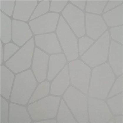Стеновая панель Абстракция 240х60х0.5 см МДФ цвет белый