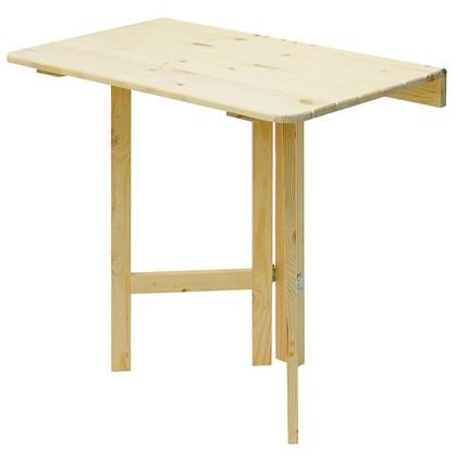 Стол навесной пристенный откидывающийся квадратный