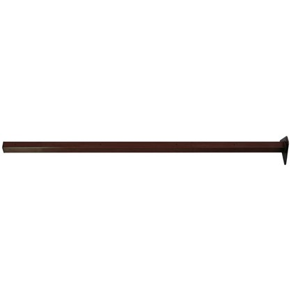 Столб 62х55х2065 коричневый 4 отверстия цена