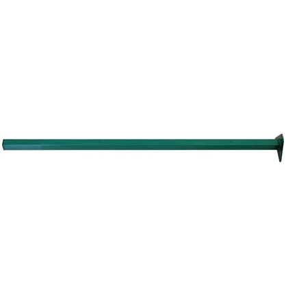 Столб 62х55х2065 зеленый 4 отверстия цена
