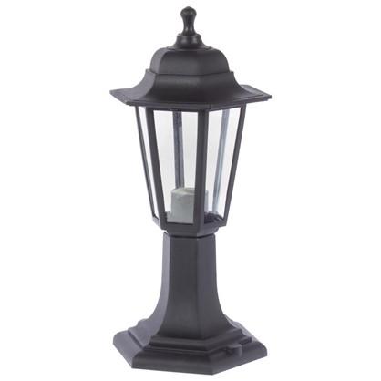Столб уличный Apeyron малый 6 граней цвет черный цена