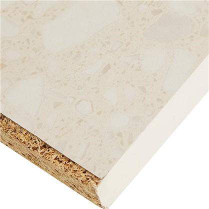 Столешница №905 244х2.6х60 см ЛДСП цвет белые камушки цена