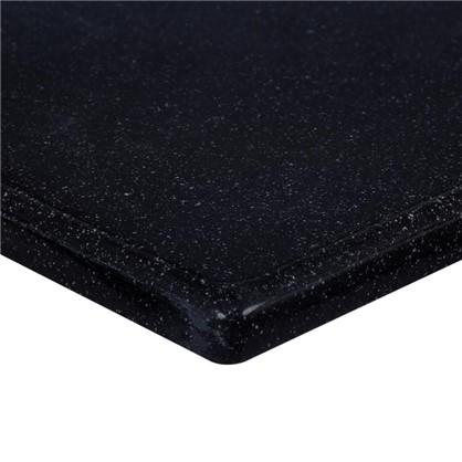 Столешница под раковину 1000х470 мм цвет чёрный цена