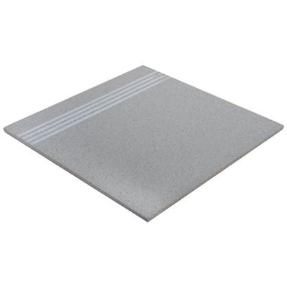 Ступень EG12 30х30 см 1.53 м2 керамогранит цвет серый цена