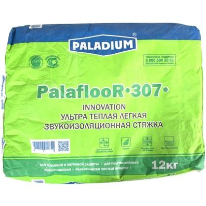 Стяжка пола теплоизоляционная Paladium Palafloor-307 12 кг цена