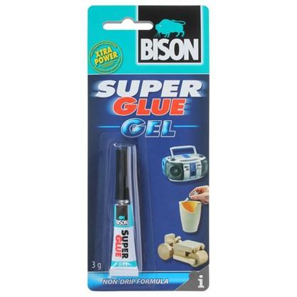 Супер-клей универсальный супер Bison Super Glue Gel 3 г цена