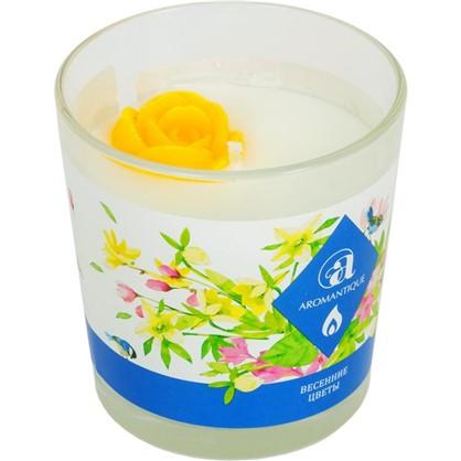 Свеча ароматизированная Весенние цветы цена