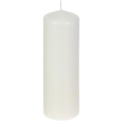 Свеча-столбик 8/25 см цвет бежевый цена