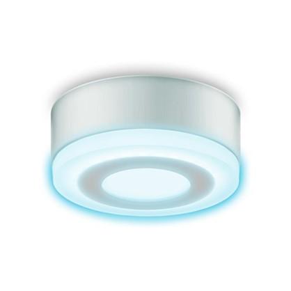 Светильник Gauss Backlight накладной BL215 круглый 6 Вт акрил 4000K свет холодный белый цена