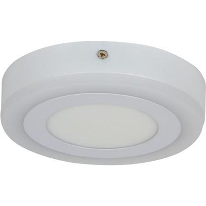 Светильник Gauss Backlight накладной BL216 круглый 9 Вт акрил 3000K свет теплый белый