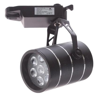 Светильник на шину светодиодный Cinto 7 Вт цвет черный цена