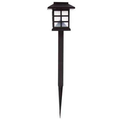 Светильник на солнечных батареях Inspire London Mood 38 см пластик цвет черный цена