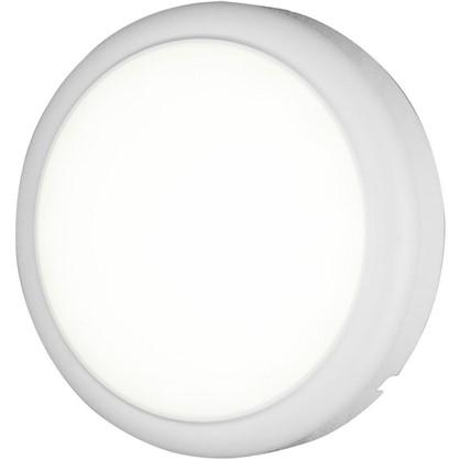 Светильник настенный светодиодный круг 18 Вт цвет белый цена
