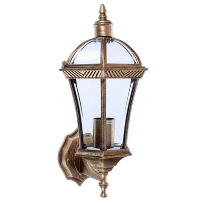 Светильник настенный уличный Capella 60 Вт IP44 цвет черное золото цена