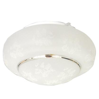Светильник настенно-потолочный Морозко 210 2xE27x60 Вт IP20 металл/пластик цвет белый цена