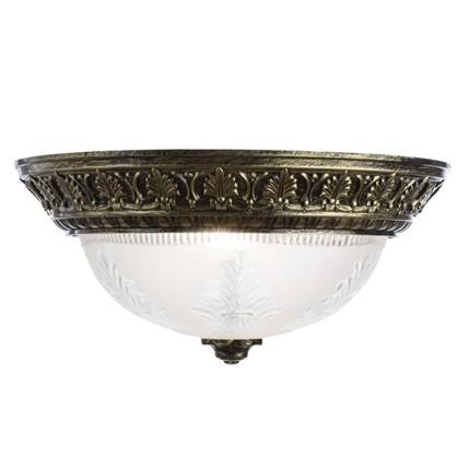 Светильник настенно-потолочный Piatti 2xE27x40 Вт цвет бронза цена