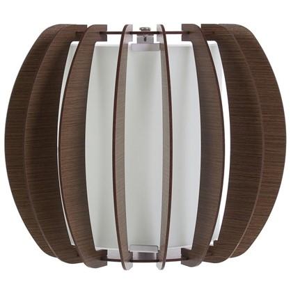 Светильник настенно-потолочный Stellato3 1xE27x60 Вт 25 см цвет коричневый цена