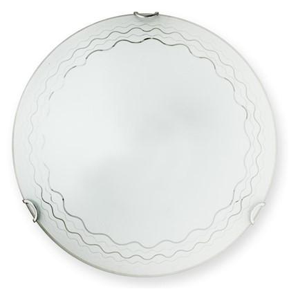 Светильник настенно-потолочный светодиодный 18 Вт 30 см цвет белый цена