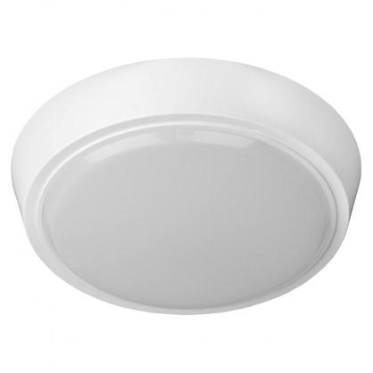 Светильник настенно-потолочный светодиодный круглый 15 Вт 1200 Лм цвет белый цена
