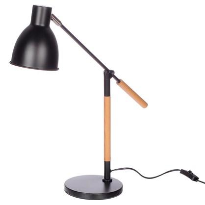 Светильник настольный Nature KD-333 1хЕ27х40 Вт цвет черный цена