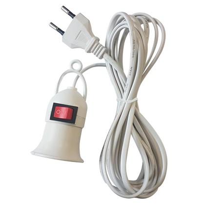 Светильник переносной E27 длина провода 3 м цена