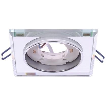 Светильник под лампу GX53 Эра 220 В 13 Вт цвет зеркальный цена