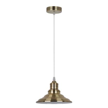 Светильник подвесной Cymbal PL-600 1xE27x40 Вт 2 м² цвет старинная медь цена