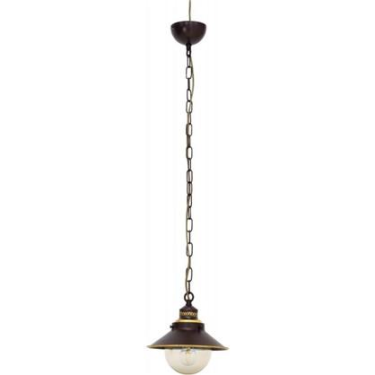 Светильник подвесной Grazioso 1xE27x60 Вт 8 м² цвет шоколадный