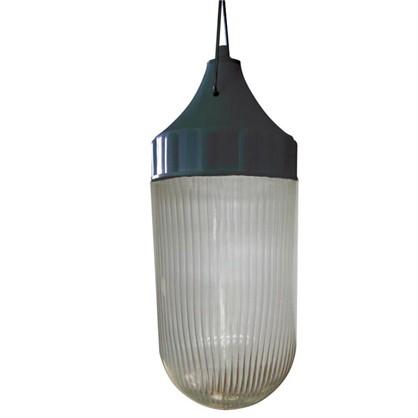 Светильник подвесной Конус 1xE27х60 Вт цвет черный IP53 цена
