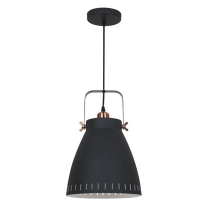 Светильник подвесной New York PL-428L 1xE27x60 Вт 3 м² цвет черный цена