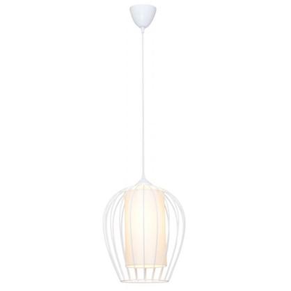 Светильник подвесной Восторг 1xE27x60 Вт 3 м² цвет белый