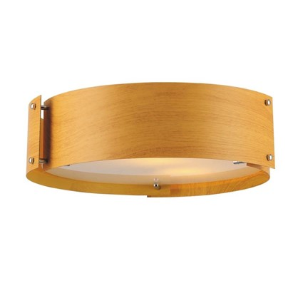 Светильник потолочный Woody 1хЕ27х40 Вт цвет коричневый цена