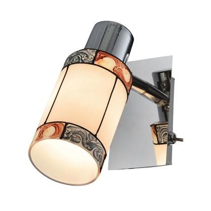 Светильник поворотный Eurosvet Tiffany 20054/1 1хЕ14х40 Вт цвет хром цена