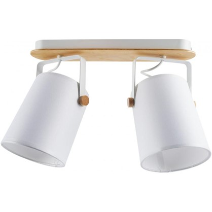 Светильник поворотный TK Lighting Relax White 1612 2хЕ27х60 Вт цена