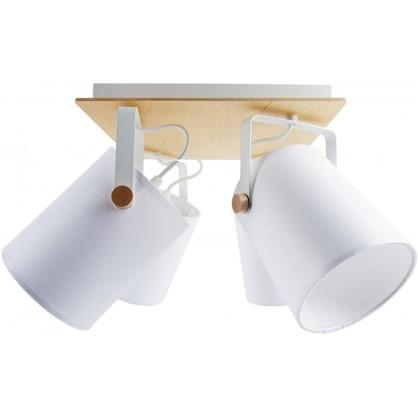 Светильник поворотный TK Lighting Relax White 1615 4хЕ27х60 Вт цена