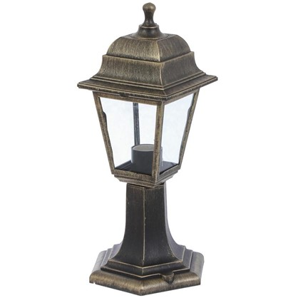 Светильник садовый TDM 1хЕ27х60 Вт IP44 пластик цвет бронза цена