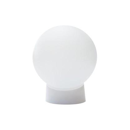 Светильник шар НББ 1хЕ27х60 Вт пластик цвет белый