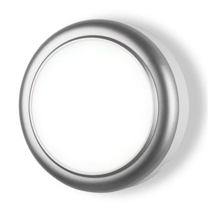 Светильник светодиодный 15 Вт цвет серебро IP54 цена