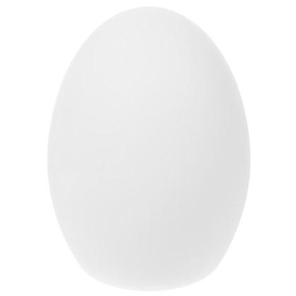 Светильник светодиодный аккумуляторный Яйцо RGB 20 см цвет белый цена