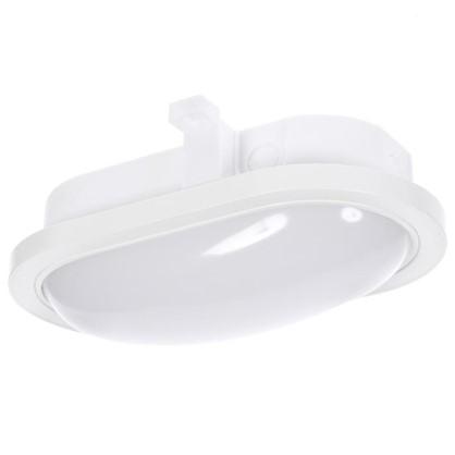 Светильник светодиодный овальный 1300 Лм IP44 цвет белый цена