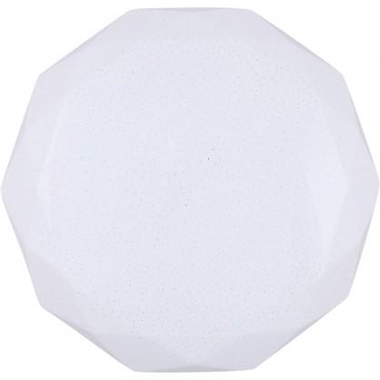 Светильник светодиодный с пультом управления Polaris 33 18 м² с диммером холодный белый свет цвет белый цена