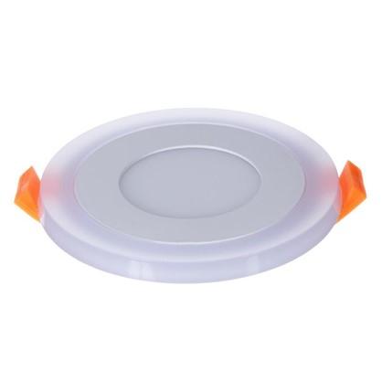 Встраиваемый светильник Gauss Backlight BL115 круглый 3+3 Вт свет холодный белый