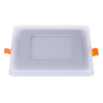 Встраиваемый светильник Gauss Backlight BL122 квадратный 6+3Вт свет теплый белый цена