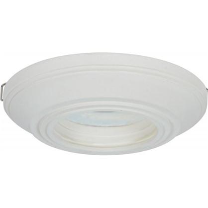 Встраиваемый светильник круглый Классика цоколь GU5.3 гипс цена