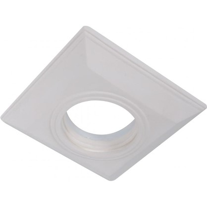 Встраиваемый светильник квадратный Классика цоколь GU5.3 гипс цена