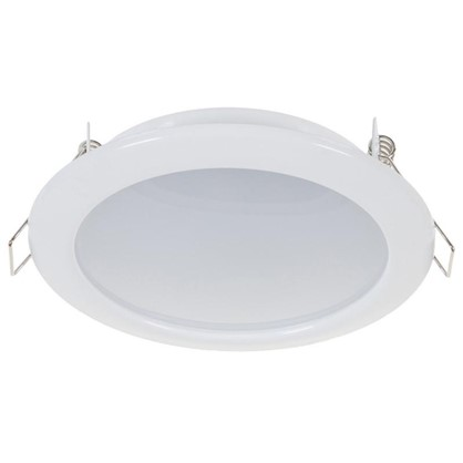 Встраиваемый светильник светодиодный 6 Вт 4000K 550Лм 220В цвет белый цена
